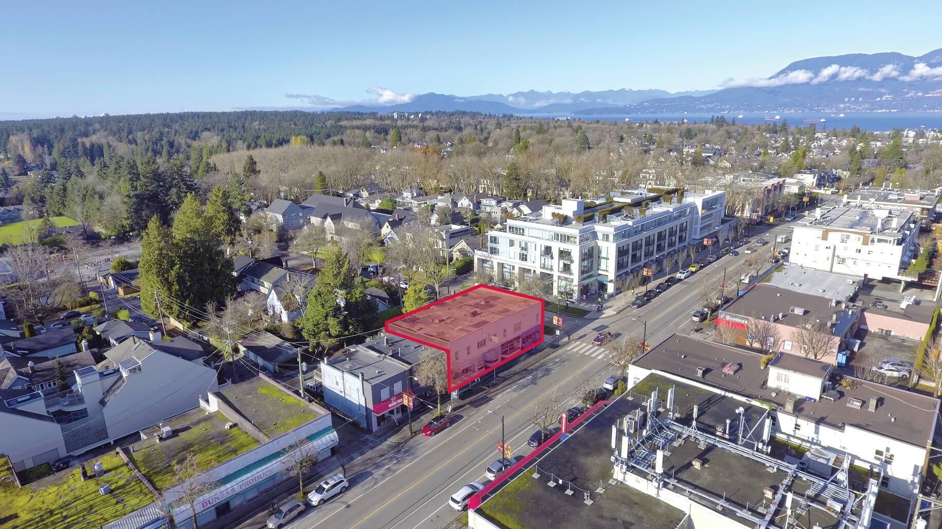 Lee & Associates Vancouver Negotiates Sale of a Retail Investment Property in the Dunbar Village Area
