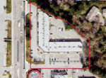 King George Blvd 6870-6898 aerial outlined