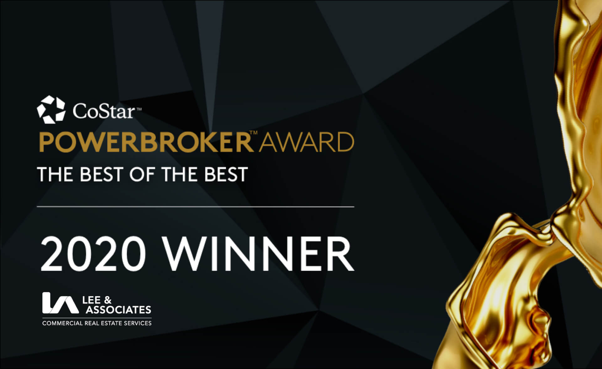 Lee & Associates Receives 2020 Power Broker Awards