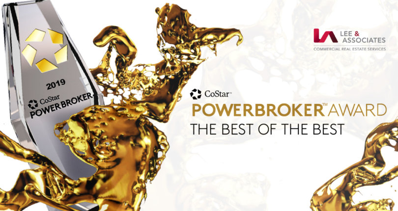 Lee & Associates Receives 2019 Power Broker Awards