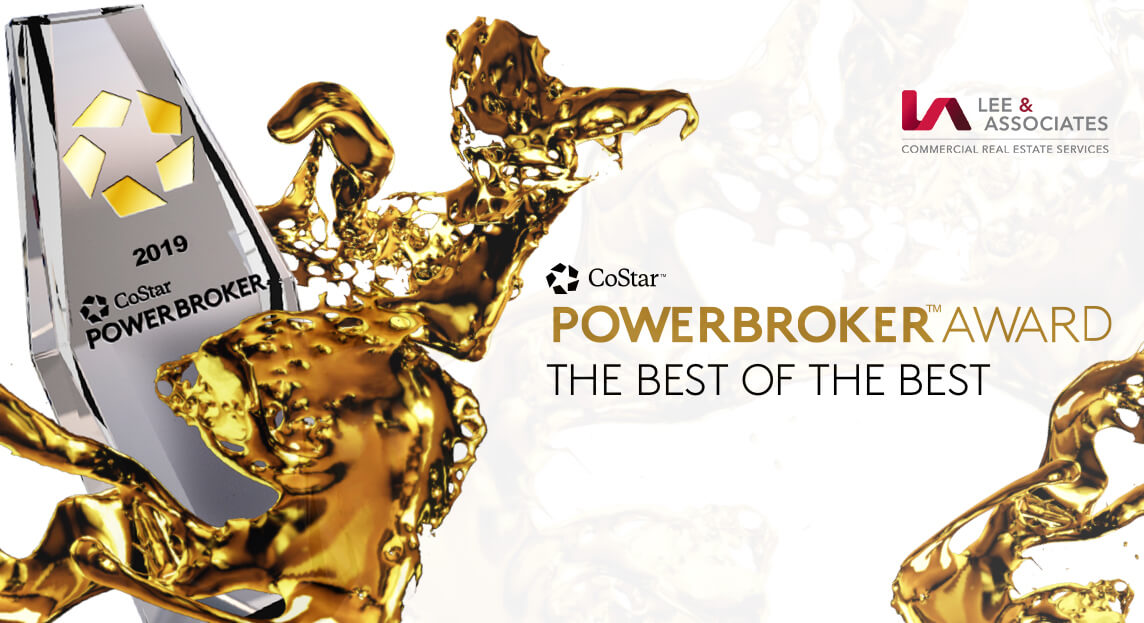 Lee & Associates Receives 2019 Power Broker Awards