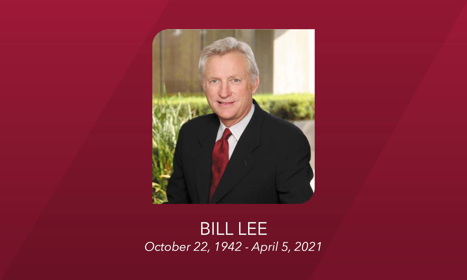 Commercial Real Estate Visionary and Founder of Lee & Associates, Bill Lee, Dies at the Age of 78